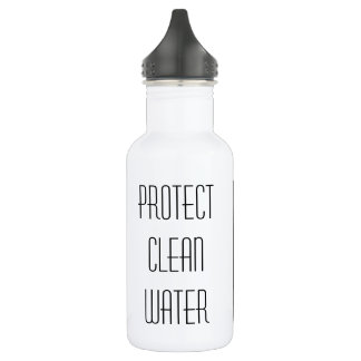 Protect Clean Water Water Bottle