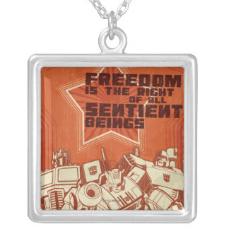 Protect/Destroy Personalized Necklace