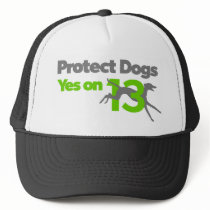 Protect Dogs - YesOn13 Trucker Hat