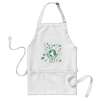 Protect environment adult apron