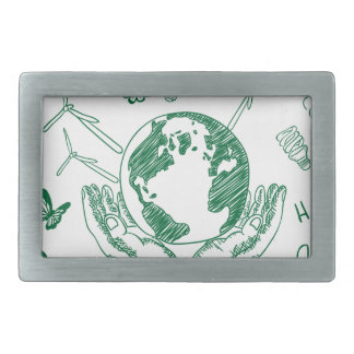 Protect environment belt buckle
