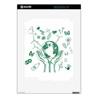 Protect environment decal for iPad 2