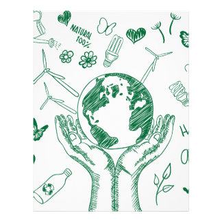 Protect environment letterhead