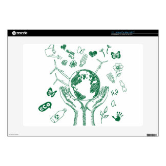 Protect environment skin for laptop