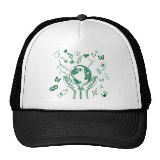 Protect environment trucker hat