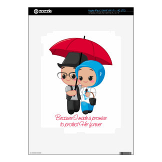 Protect Her forever iPad 3 Decals