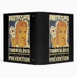 Protect Her From Tuberculosis Vinyl Binders