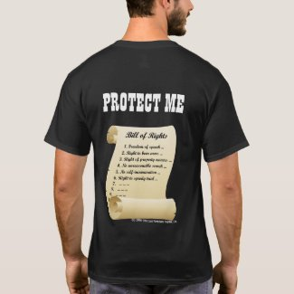 Protect Me - the Bill of Rights Tank Top