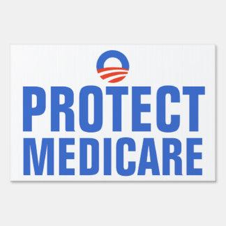 Protect Medicare Obama 2012 Sign