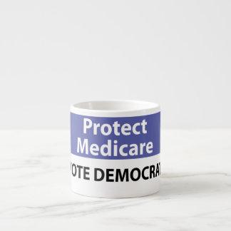 Protect Medicare: Vote Democrat Espresso Cup