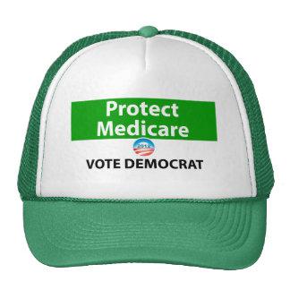 Protect Medicare Vote Democrat Mesh Hat