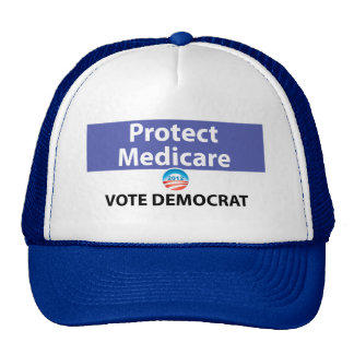 Protect Medicare Vote Democrat Trucker Hat