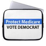 Protect Medicare: Vote Democrat Laptop Computer Sleeve