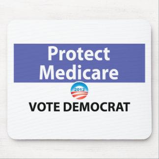 Protect Medicare: Vote Democrat Mouse Pad
