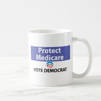 Protect Medicare: Vote Democrat Coffee Mug
