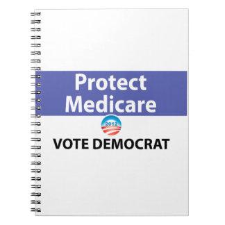 Protect Medicare: Vote Democrat Note Books