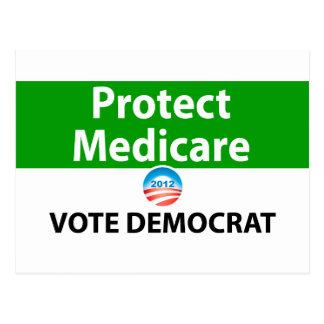 Protect Medicare: Vote Democrat Postcard