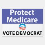 Protect Medicare: Vote Democrat Sign