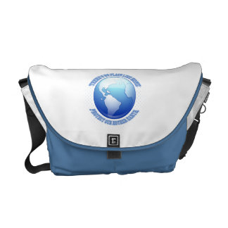 Protect Mother Earth Courier Bag
