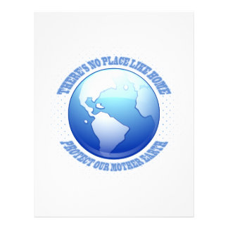"""Protect Mother Earth 8.5"""" X 11"""" Flyer"""