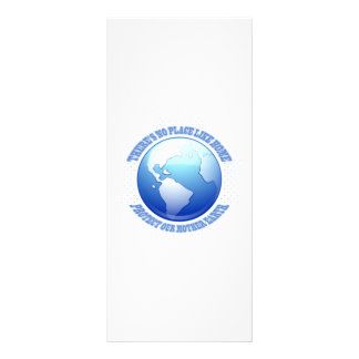 Protect Mother Earth Personalized Rack Card