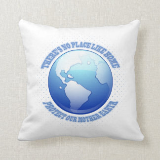 Protect Mother Earth Throw Pillow