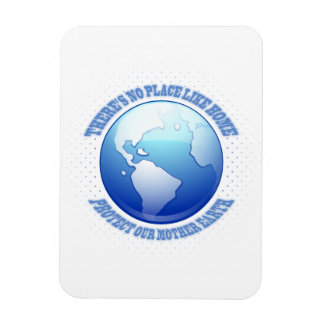 Protect Mother Earth Rectangular Photo Magnet