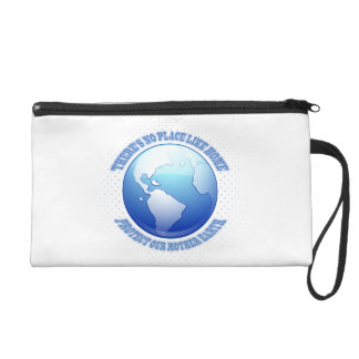 Protect Mother Earth Wristlet Purse