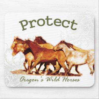 Protect Oregon's Wild Horses Mouse Pad