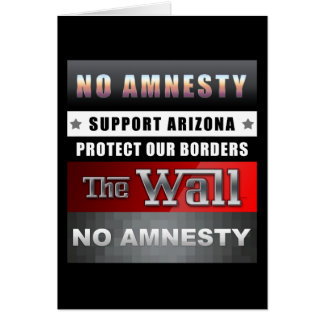 Protect Our Borders Card