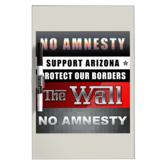 Protect Our Borders Dry-Erase Whiteboards