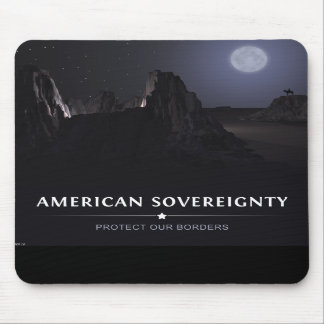 Protect Our Borders Mousepad