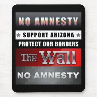 Protect Our Borders Mouse Pads