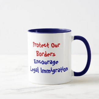 Protect Our Borders Mug