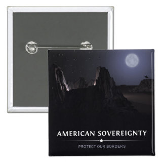 Protect Our Borders Pinback Button