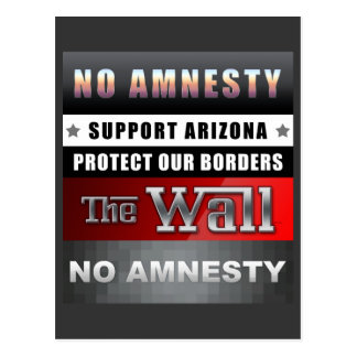 Protect Our Borders Postcard
