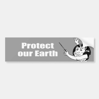 Protect our Earth Bumper Stickers