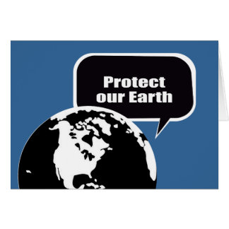 Protect our Earth Card