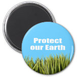 Protect our Earth Fridge Magnet