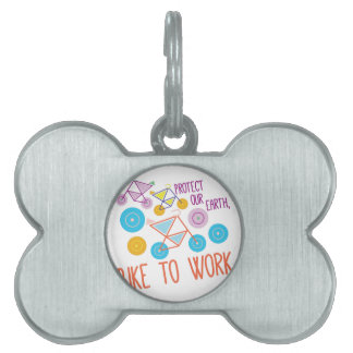 Protect Our Earth Pet Name Tags