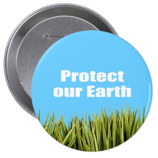 Protect our Earth Pin