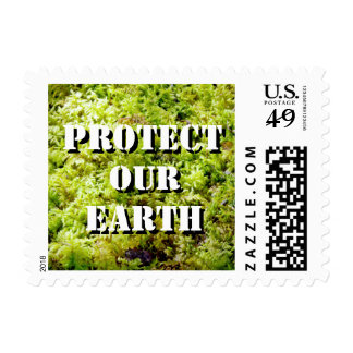 Protect Our Earth Postage