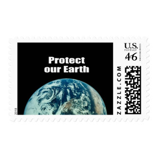 Protect our Earth Postage Stamps