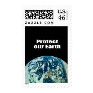 Protect our Earth Stamp