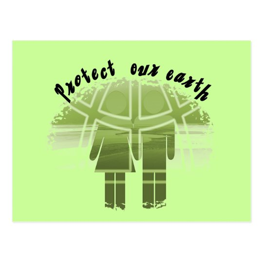 Protect Our Earth T-shirts and Gifts Postcard