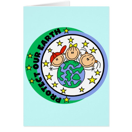 Protect Our Earth Tshirts and Gifts Card