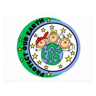 Protect Our Earth Tshirts and Gifts Postcard