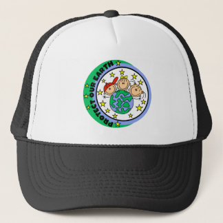 Protect Our Earth Tshirts and Gifts Trucker Hat