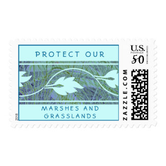 Protect Our Grasslands Postage