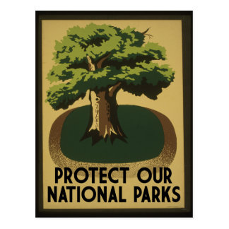 Protect our National Parks Postcard